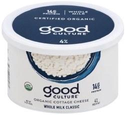 Cottage Cheese, Organic