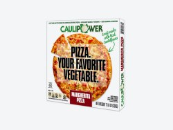 Margarita Cauliflower Crust Pizza