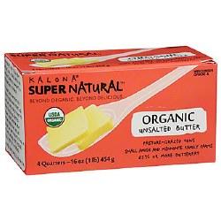 Butter, Unsalted, Organic