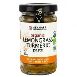 Lemongrass Turmeric Paste, Org