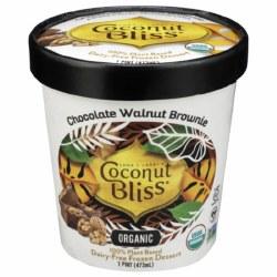 Chocolate Walnut Brownie Ice Cream, Non Dairy