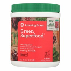 Amazing Grass Berry Green Superfood Powder 8.5oz