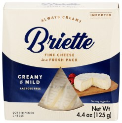 Brie, Creamy Mild