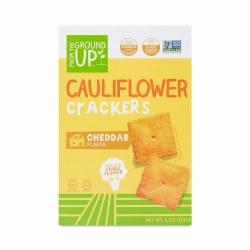 Cauliflower Crackers, Cheddar