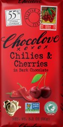 Chili & Cherry Dark Chocolate