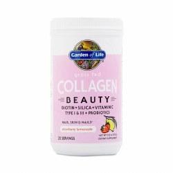 Garden of Life Grass Fed Strawberry Lemonade Collagen Beauty Powder 9.52oz