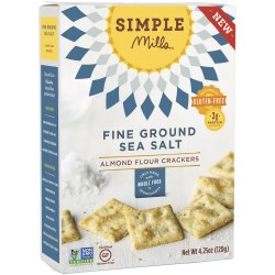 Crackers, Almond Sea Salt