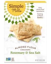 Crackers, Rosemary Sea Salt