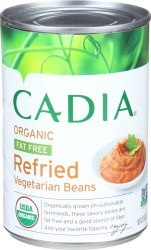 Fat-Free Refried Beans, Organic