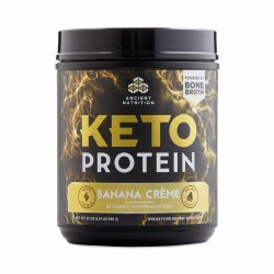 Ancient Nutrition Banana Creme Keto Protein Powder 1.19lb