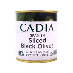 Black Olives, Sliced