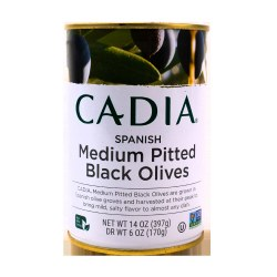 Black Olives, Pitted