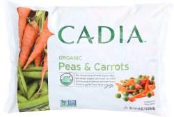 Peas & Shoestring Carrots, Organic