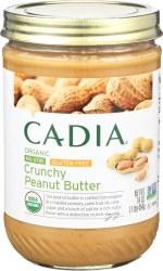 Crunchy Peanut Butter, No-Stir, Organic