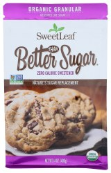 Better Than Sugar Organic Granulated Zero Calorie Sweetener