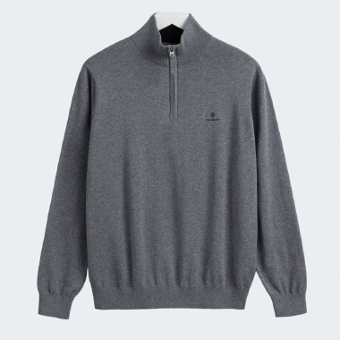 Classic Cotton Half-Zip