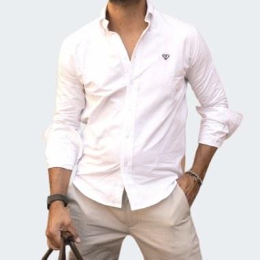Slim Oxford Shirt