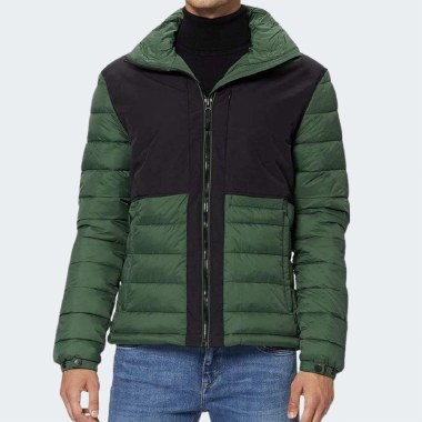 Non-Hooded Expedition Puffer