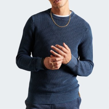 Academy Dyed Textured Knit
