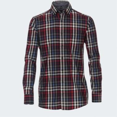 Long-Sleeve Print Shirt