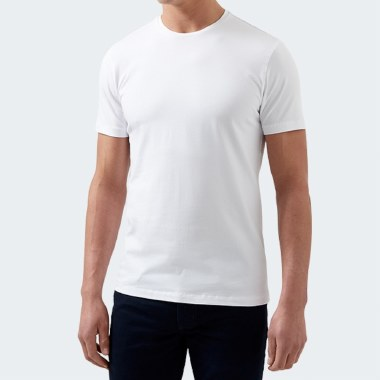 Tapered Cotton Stretch Tee thumbnail