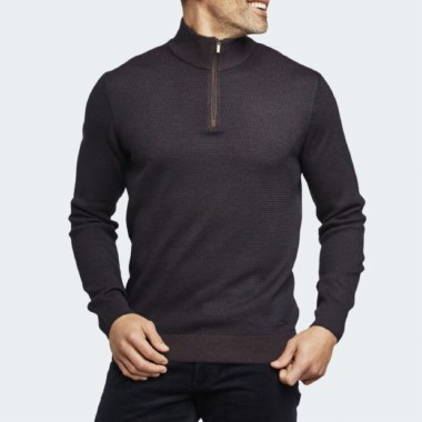 Troyer 1/4 Zip Knit