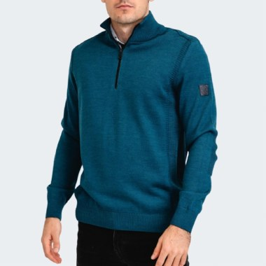 Troyer 1/2 Zip Knit