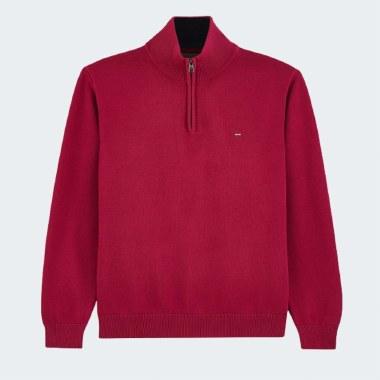 Cotton 1/4 Zip Knit
