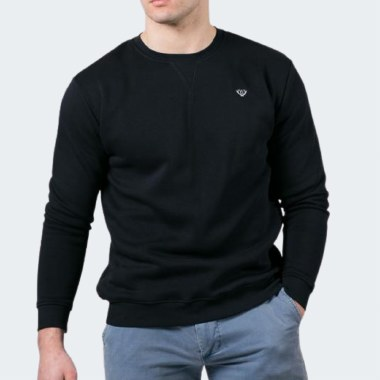 Embroidered Logo Sweat