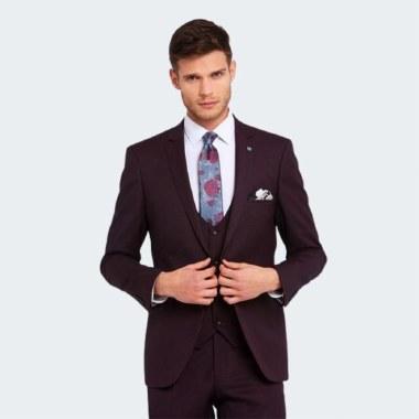 Emmet Classic Three-Piece Suit