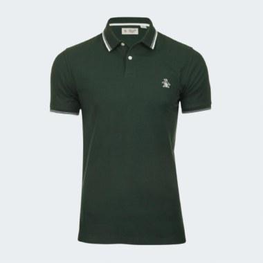 Rib Raised Polo-Shirt