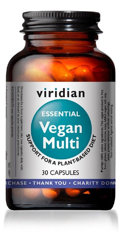 Essential Vegan Multi 30 Caps