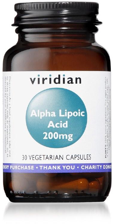 Alpha Lipoic Acid 200mg   30's