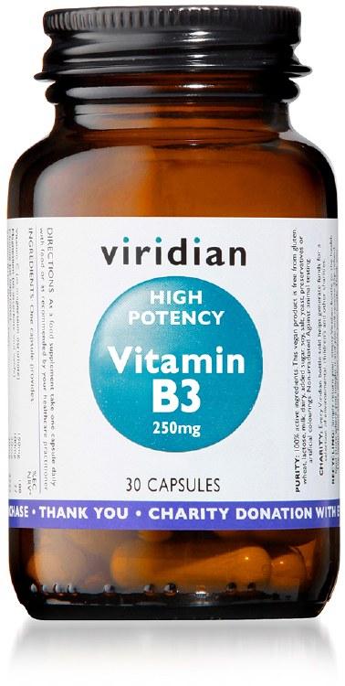 Hi-Potency Vitamin B3 30 Caps