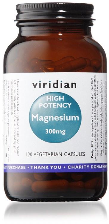 High Potency Magnesium 120's