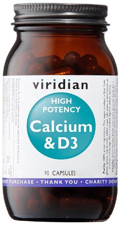 High Potency Calcium & D3