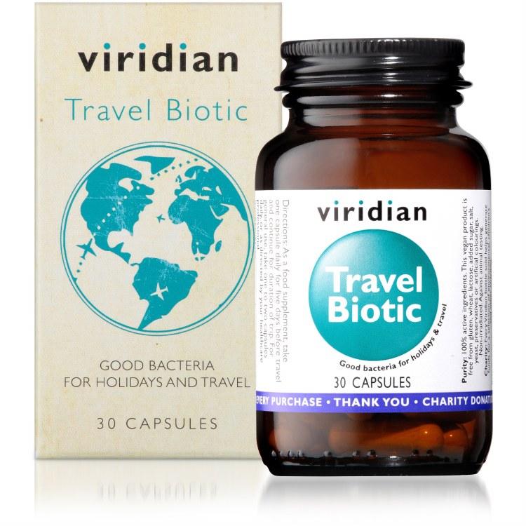 Travel Biotic Veg Caps