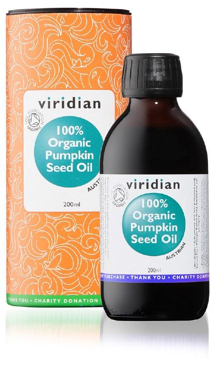 100% Org Pumpkin Seed Oil