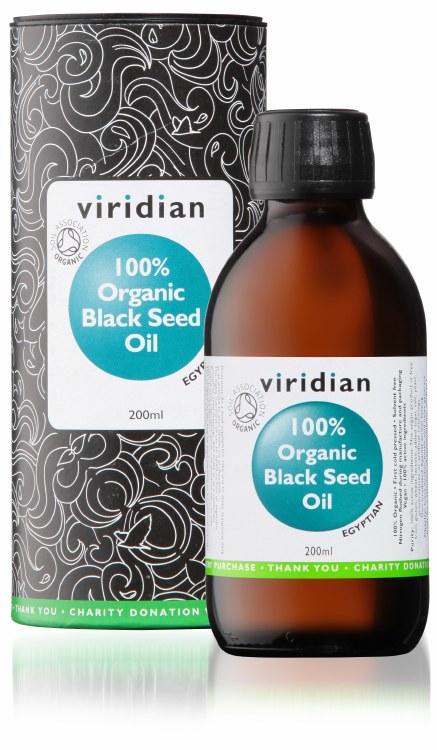 100% Org Black Seed Oil