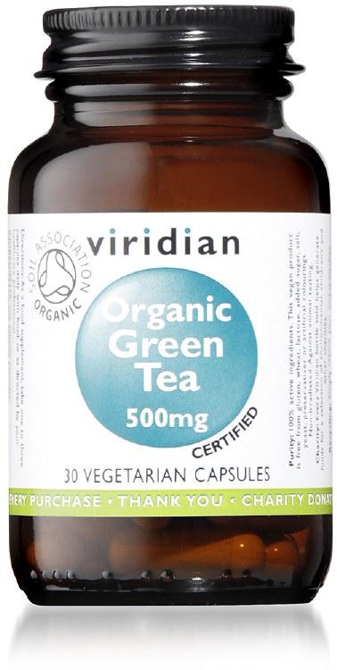 Org Green Tea Leaf 500mg