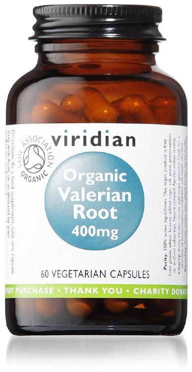 Org Valerian Root 400mg