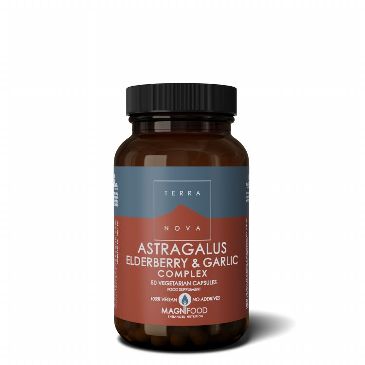 Astragalus Elderberry & Garlic