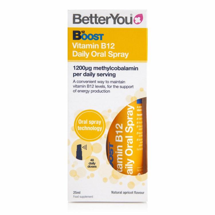 B12 Boost Pure Energy Oral Spr