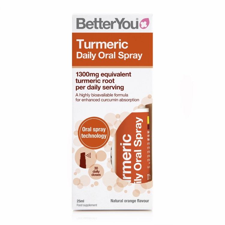BetterU Turmeric Oral Spr