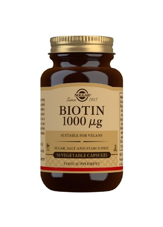 Biotin 1000 g Vegetable Capsul