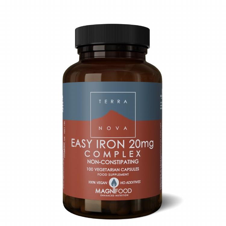 Easy Iron 20mg Complex Veg Cap