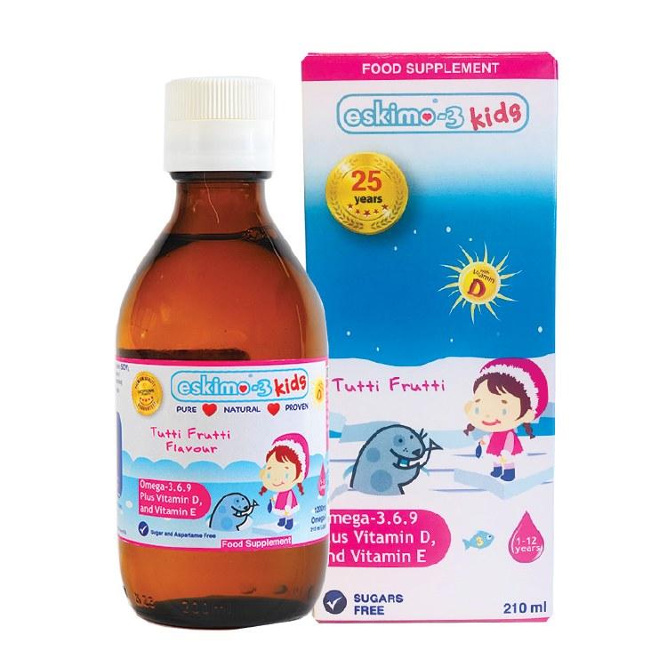 Eskimo 3 Kids Tutti 210 ml