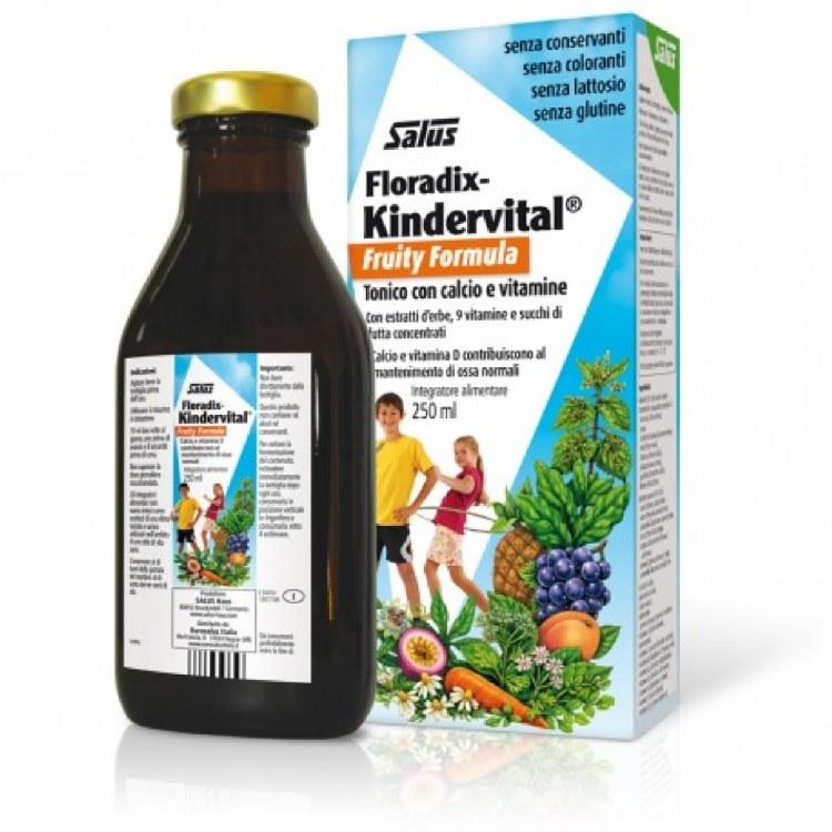 FLORADIX KINDERVITAL FRUITY 4