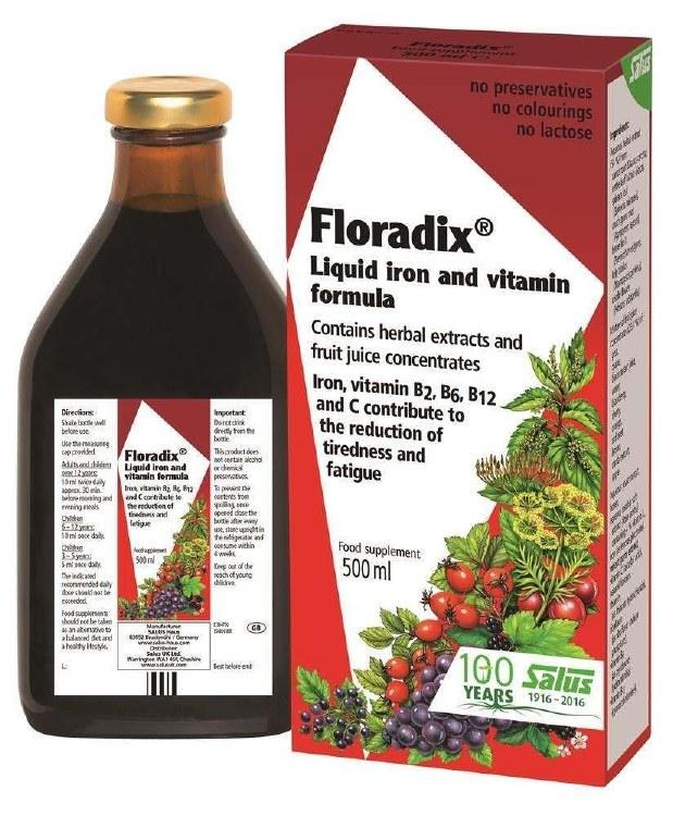 Floradix Liquid Iron LRG