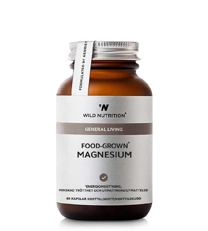 FOOD-GROWN MAGNESIUM 60CAPS